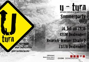 U-Turn Flyer Sommerfest 2016 (small)